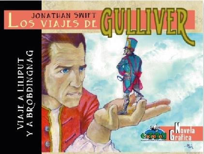 los viajes de gulliver en comic de extrebeo