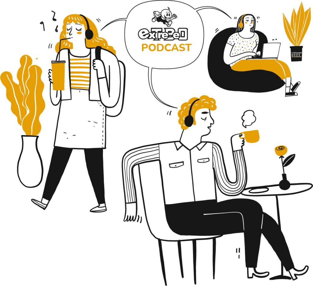podcast extrebeo
